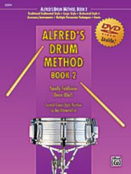 Alfred's Snare Drum Method - Book 2 w/ DVD