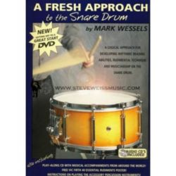 A Fresh Approach to the Snare Drum - w/ CD & DVD