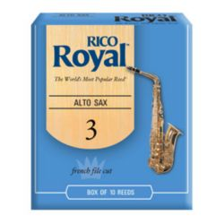 Rico Royal Eb Alto Sax Reeds (Box of 10)