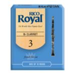 Rico Royal Bb Clarinet Reeds (Box of 10)