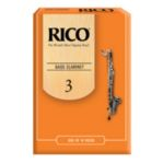 Rico Bb Bass Clarinet Reeds (Box of 10)
