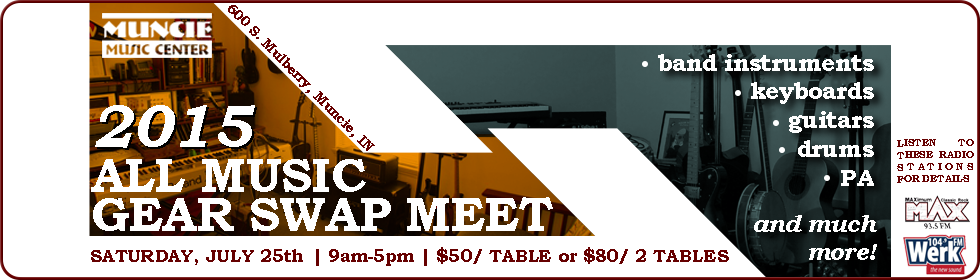 2015 All Music Gear Swap Meet Registration